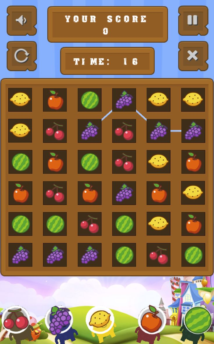 Fruit Blocks Match Connect 3 Fruits Game Online Games For Kids Games For Kids Games