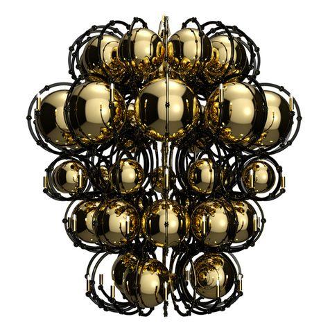 Исторические люстры Preciosa Lighting в новом прочтении | Мебель для дома в журнале AD | AD Magazine