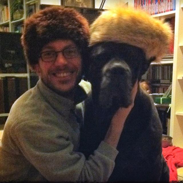 Me and my dog!