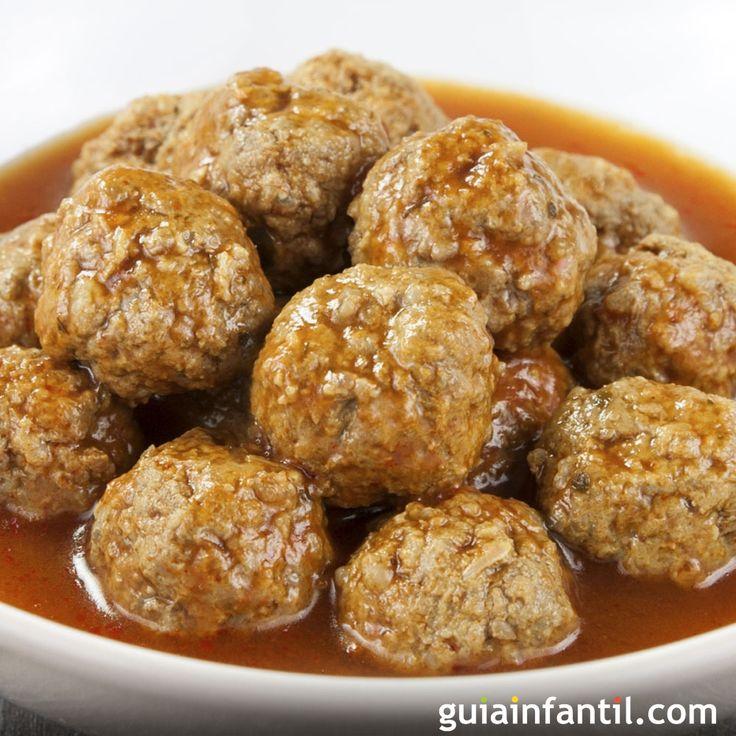 Para niños celíacos esta deliciosa receta de la abuela, Albóndigas sin gluten