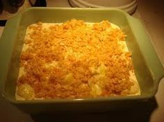 Oakwood Cafe Corn Casserole w/ cream cheese & ritz…