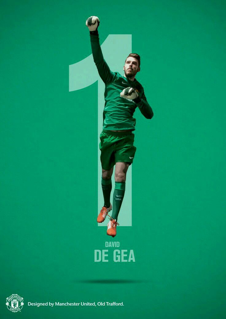 David De Gea of Man Utd wallpaper.