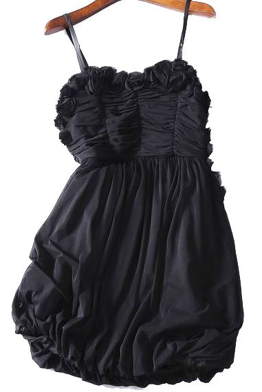 Black silk evening dress for fun summer nights. #women #dress #hot #fashion #spring #trending #designer