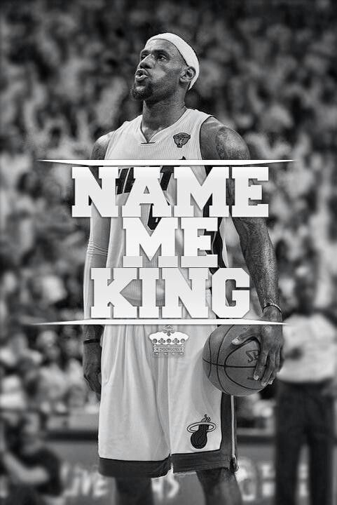THE KING... LBJ OF THE MIAMI HEAT