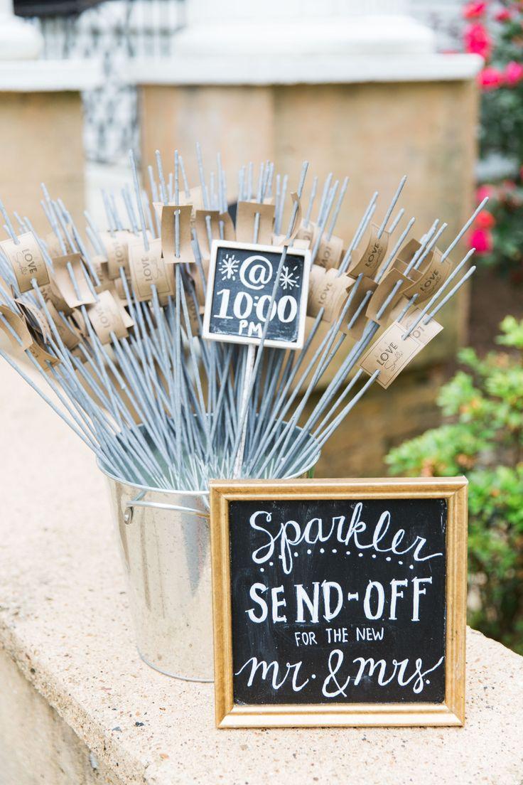 ashless sparkler send-off - Duncan Estate wedding www.DuncanEstate.com