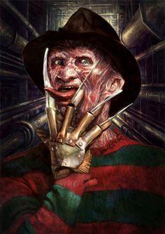 Freddy Krueger by Kid-Eternity