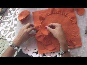 DIY COJINES DECORATIVOS! COJINES DE FLORES Paola Herrera - YouTube