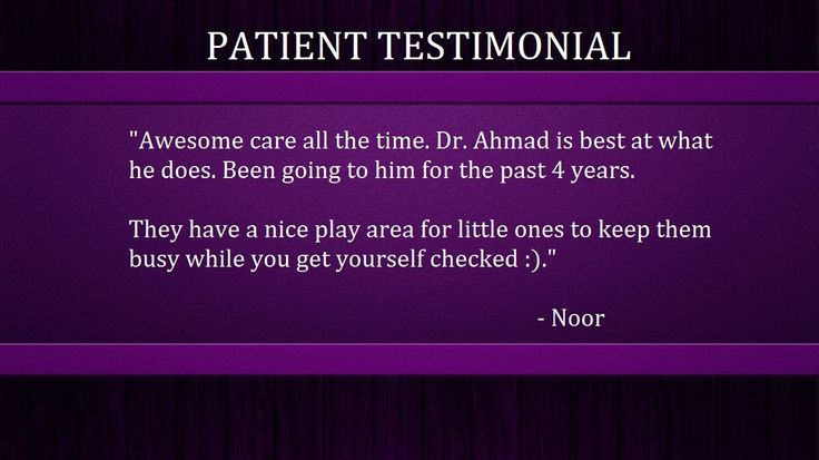 We are always happy to hear from our patients about your positive experience.  You can do the same on our Facebook page.