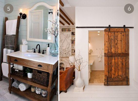 10 beautiful rustic chic bathrooms - Rustic Chic Bathroom Decor