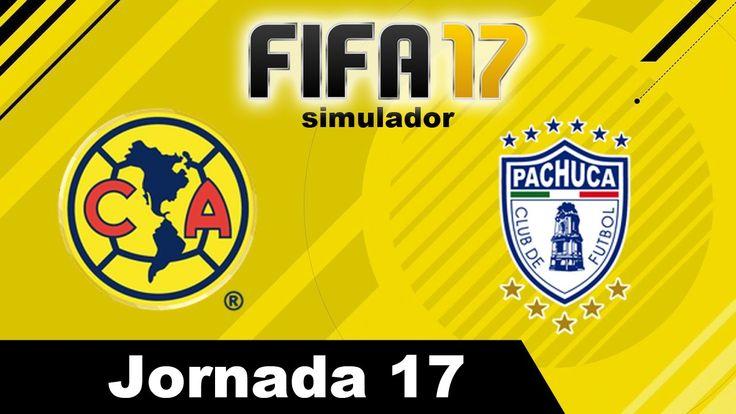 America vs Pachuca 2017 RESUMEN Jornada 17 Clausura 2017 Liga MX Simulad...