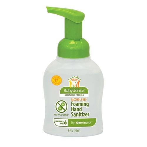 The Germinator by BabyGanics, Alcohol Free Hand Sanitizer: Bottle Packs, Baby Products, Alcohol Fre Foam, Free Foam, Babygan Alchohol, Fragrance Free, Alcohol Free, Alchohol Free, Foam Hands