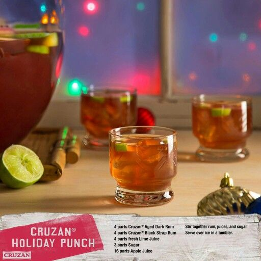 Holiday Punch, Rum Punch, Fresh