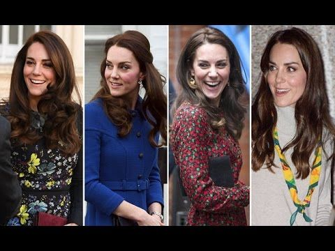 Kate Middleton Change her Hair Fashion Style as She Joins Prince William...