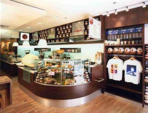 Nutelleria, le Nouveau McDonald's du Nutella