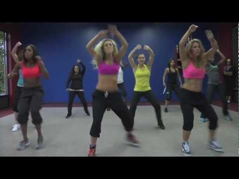 Rain Over Me Zumba VIDEO via youtube - this looks fun!