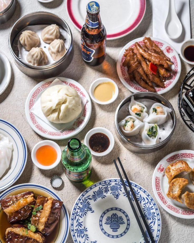 For top-notch Dim Sum, check out Nom Wah Tea Parlor in New Chinatown, Manhattan