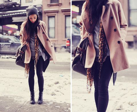 cold weather look