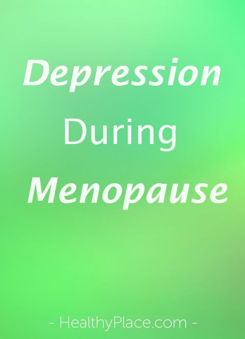 """Depression during menopause is difficult. Article discusses the complications of menopause and how it makes coping with depression challenging."" www.HealthyPlace.com"