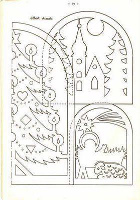Вычинанки и киригами (Новый год и Рождество) - AngelOlenka - Picasa Webalbums