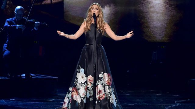 Celine Dion pays tribute to late husband, Rene Angelil as she returns to stage
