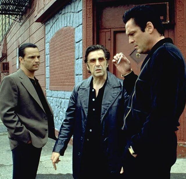 James Russo Paulie Al Pacino Lefty Michael Madsen Sonny Black Donnie Brasco Donnie Brasco Al Pacino Gangster