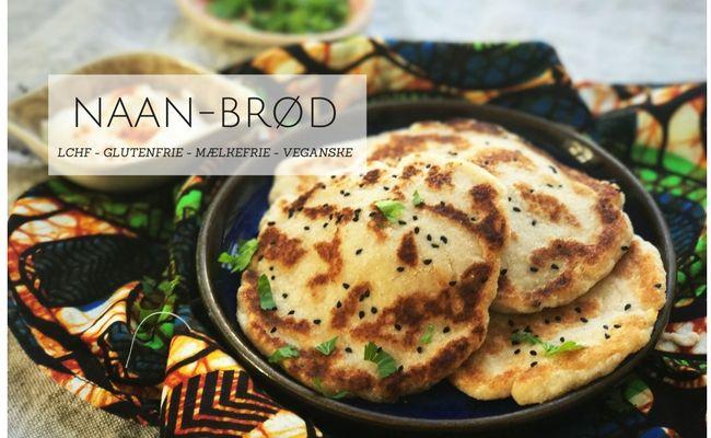 Naan-brød - bedste opskrift på naanbrød, der både er LCHF, glutenfrie, melfrie, mælkefrie og veganske.