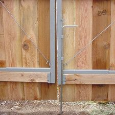 Features:  -Use two Adjust-A-Gate Drop Rod's for wider openings such as driveways or extended openings for backyard use.  -Keeps both gates secure when closed or allows gate access to both or only one