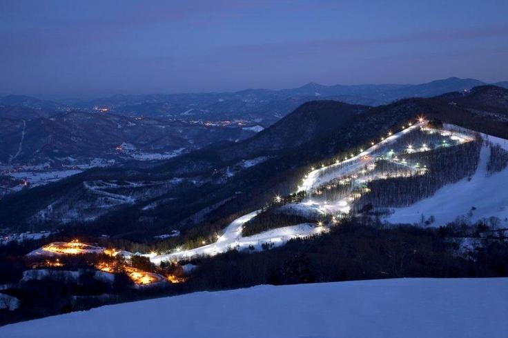 Cataloochee Ski Area, Maggie Valley NC