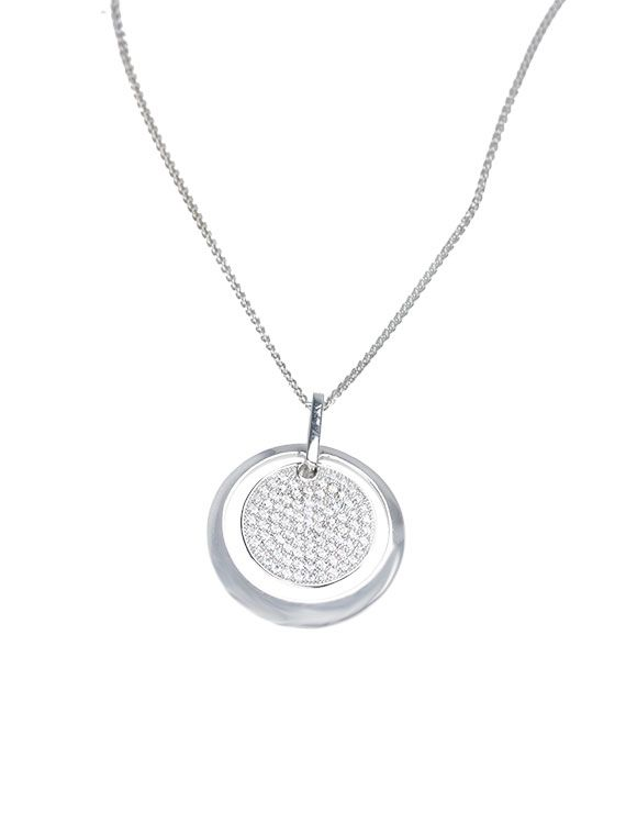 Silver & cubic zirconia pendant - £79 from Onyx Goldsmiths