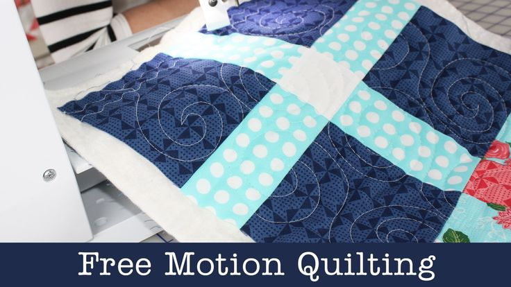 How to Free Motion Quilt on Home Machine - Lella Boutique - Fat Quarter ...