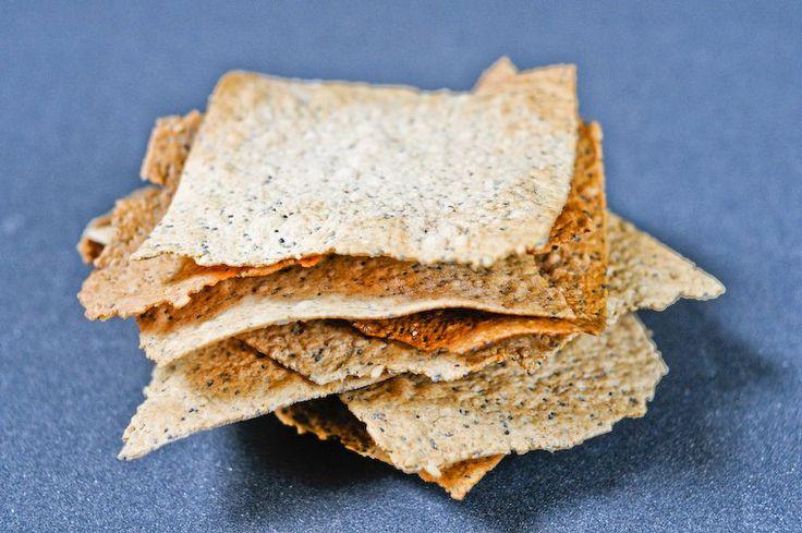 Crackers à l'huile d'olive et aux graines Recette sur Chocolate & Zucchini en VF