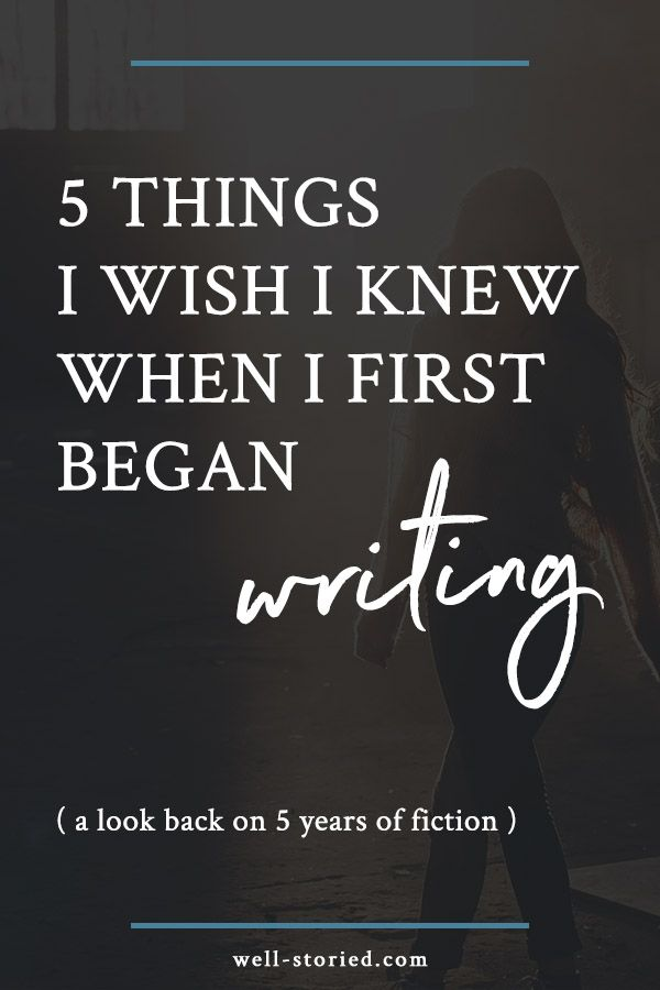 Are you just beginning your writing journey? Today, I'm celebrating my 5-year writing anniversary. And in celebration of that, I thought I'd share 5 things I wish I knew when I first began writing!