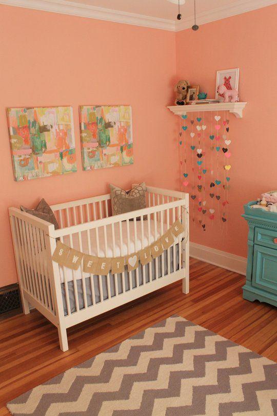 Audrey's Feminine, Peachy Pink Nursery
