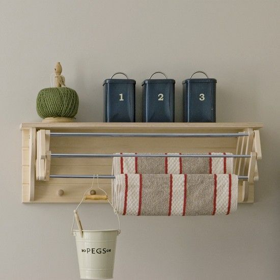 Utility room hooks | Utility room | Utility room storage solutions | PHOTO GALLERY | Housetohome