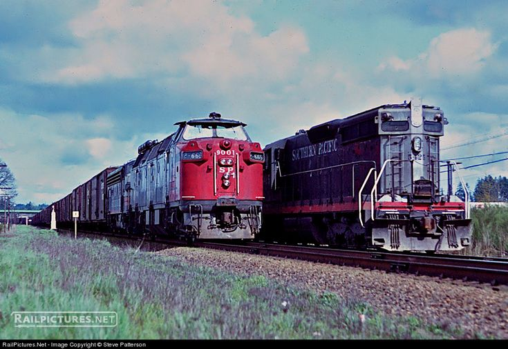 RailPictures.Net Photo: SP 9001 Southern Pacific Railroad Krauss-Maffei ML-4000 at Brooks, Oregon by Steve Patterson