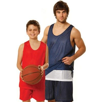 Kids Reversible Basketball Singlet Min 25 - Clothing - Sports Uniforms - Basketball Teamwear - WS-TS81K1 - Best Value Promotional items including Promotional Merchandise, Printed T shirts, Promotional Mugs, Promotional Clothing and Corporate Gifts from PROMOSXCHAGE - Melbourne, Sydney, Brisbane - Call 1800 PROMOS (776 667)
