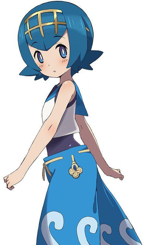 Lana from pokemon sun and moon