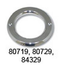2 Cr. Plastic Grommet Covers W/O Visor