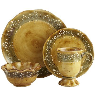 Maroma Dinnerware From Pier 1 Hand Painted Inspired By