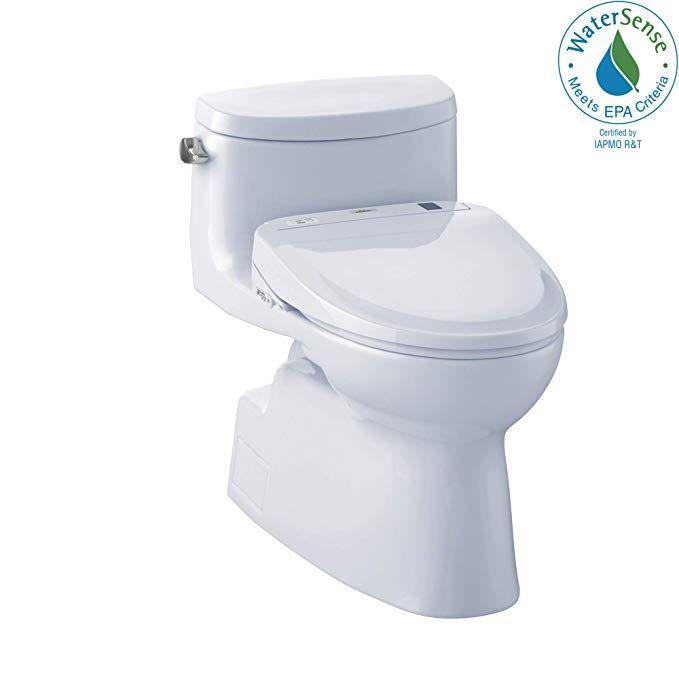 Toto Mw644584cefg 01 Washlet Kit Carolina Ii One Piece Elongated 1 28 Gpf Toilet And Washlet S350e Bidet Seat Cotton White Washlet Bidet Toto Washlet