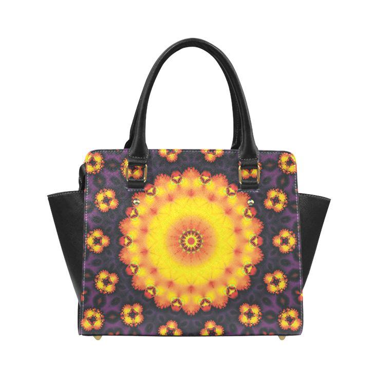 CVM0081 Elena Fractala Classic Shoulder Handbag (Model 1653)