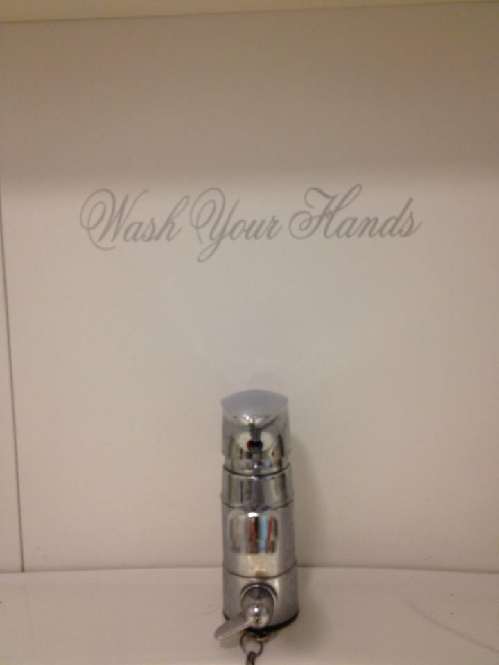 wash your hands #wall #sticker #ChicSisters #Wc #toilet #ChicSisters