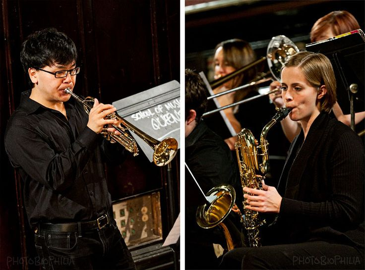 photobiophilia:    Music is beautiful.    Photos of the Jazz Ensemble hosted by Queen's University School of Music on Tuesday.