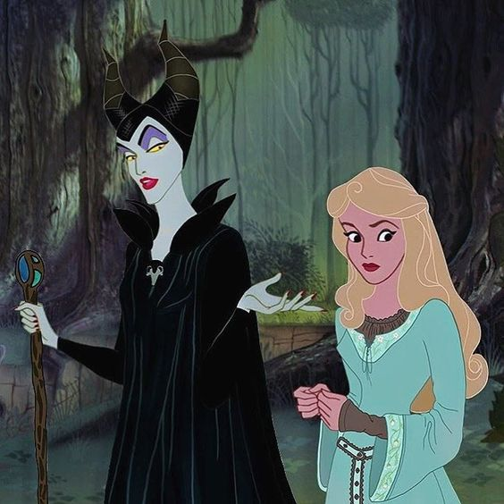 Idk if its just me but i immediately thought of rapunzel and the witch from into the woods