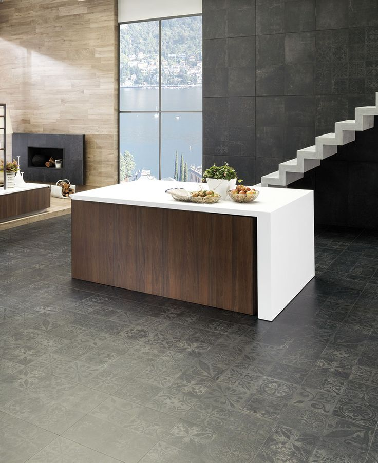 Porcelanosa Kitchen Floor Tiles: 17 Best Ideas About Dark Tile Floors On Pinterest