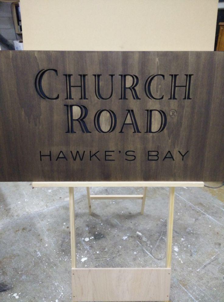 Custom engraved wood signage in NZ