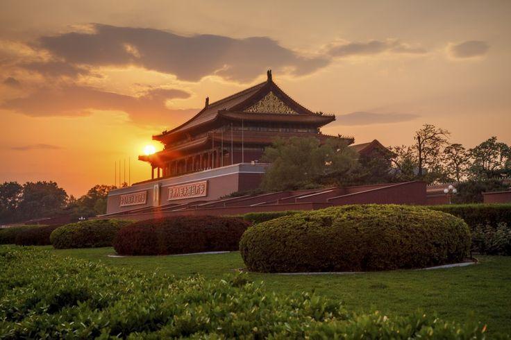 Beijing | Sunset On Forbidden City