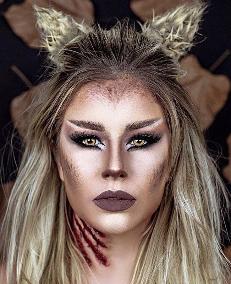 Tete Clementino Wolf makeup Werewolf makeup, Zombie