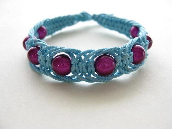 11 page macrame bracelet pattern / macrame bracelet tutorial / macrame ...