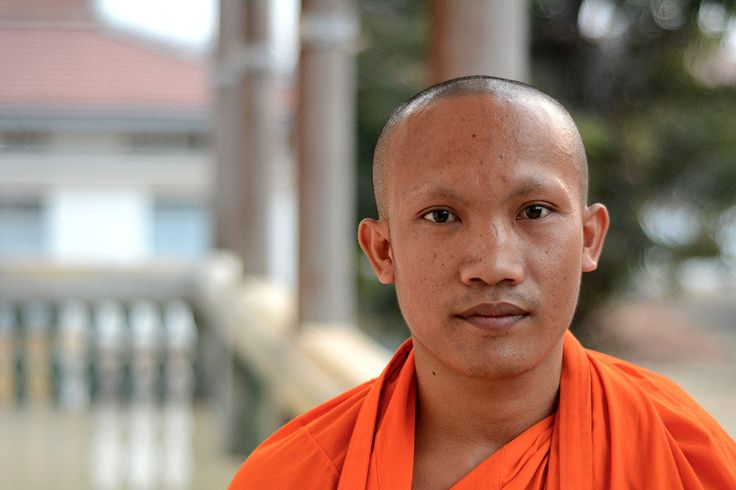 Friday Faces: Cambodian Monk From Stung Treng
